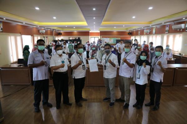 Penandatanganan Komitmen PPID BPTP Kalimantan Selatan Dalam Pelaksanaan Keterbukaan Informasi Publik