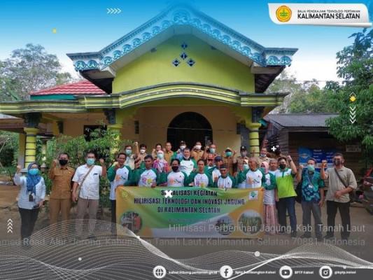 Sosialisasi Kegiatan Hilirisasi Teknologi dan Inovasi Balitbangtan Komoditas Jagung
